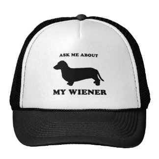 Ask me about my wiener2 mesh hat