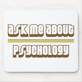 Ask Me About Psychology Mousepads