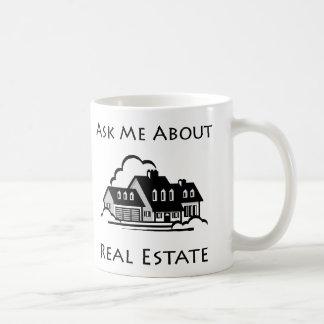 Ask Me About Real Estate Mug