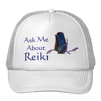 Ask Me About Reiki Hat