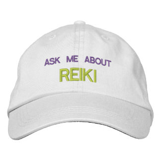 ASK ME ABOUT REIKI - Personalized Adjustable Hat