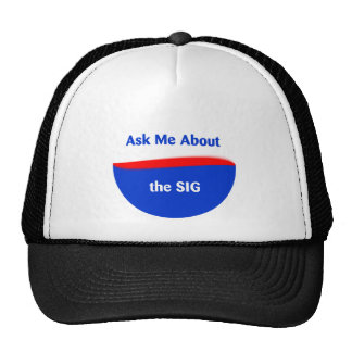 Ask Me About the SIG Trucker Hat