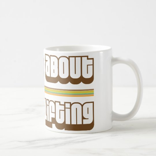 Ask Me About Weight Lifting Coffee Mug