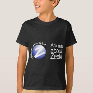 Ask Me About Zeek - Black Tees