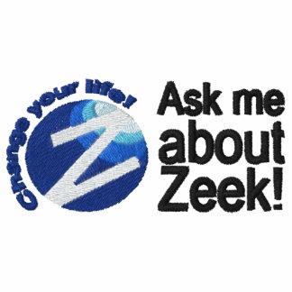 Ask Me About Zeek - Men's Polo Dual Logo