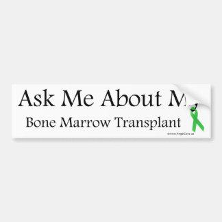 Ask Me Bone Marrow Bumper Sticker