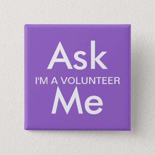 Ask Me Button for Business School Volunteers