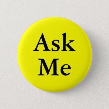 Professional Business Ask me buttons for questions at your event