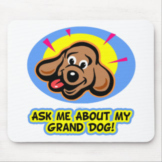 ask me grand dog-5a mouse pads