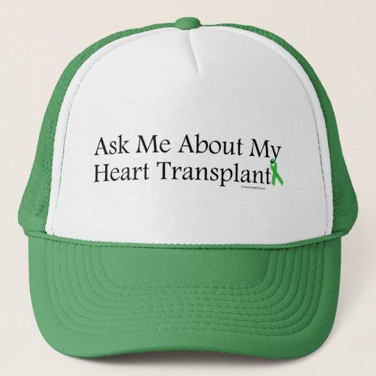 Ask Me Heart Trucker Hat