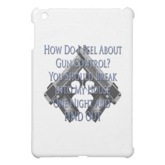 Ask me How I feel about Gun Control iPad Mini Cases
