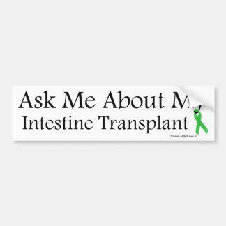 Ask Me Intestine Bumper Sticker