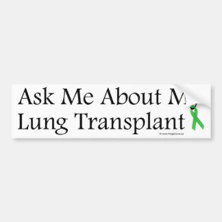 Ask Me Lung Bumper Stickers