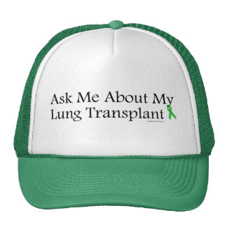 Ask Me Lung Trucker Hat