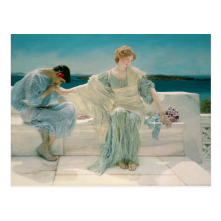 Ask me no more, 1906 (oil on canvas) postcard