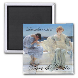 Ask Me No More, Alma Tadema, Save the Date Magnet