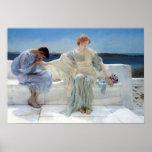Ask Me No More by Alma Tadema, Vintage Romanticism Print