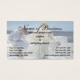 Ask Me No More by Sir Lawrence Alma Tadema Business Card