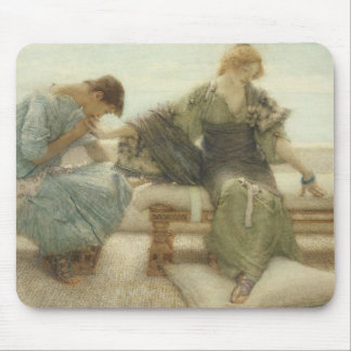 Ask me no more for at a touch I yield 1886 w Mouse Pad
