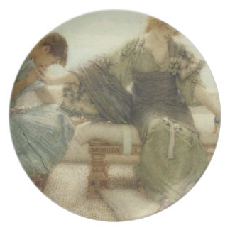 Ask me no more....for at a touch I yield, 1886 (w/ Plate