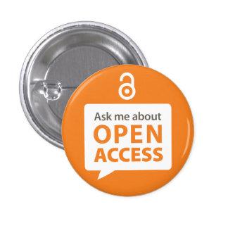 Ask Me OA Badge Button