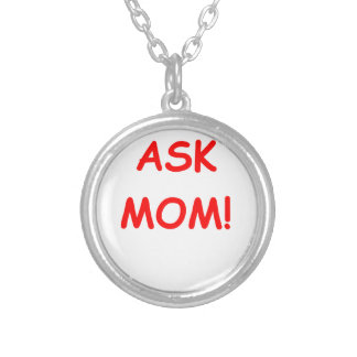 ask mom necklace