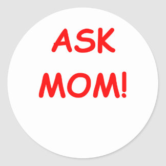 ask mom stickers