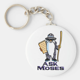 Ask Moses Keychain