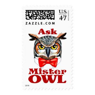 Ask Owl Postage