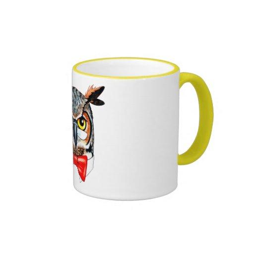 Ask Owl Ringer Mug