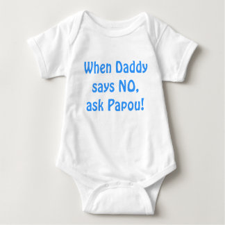 Ask Papou! Baby Bodysuit