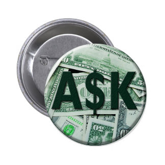 Ask Pinback Button