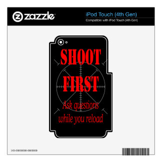 ASK QUESTIONS WHILE RELOAD iPod TOUCH 4G DECAL