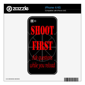 ASK QUESTIONS WHILE RELOAD SKIN FOR THE iPhone 4