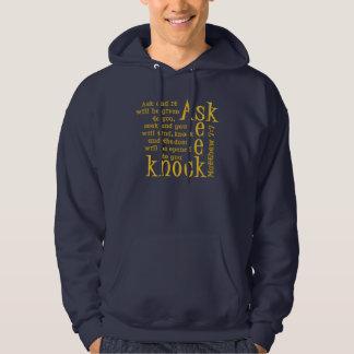 Ask Seek Knock Sweatshirt