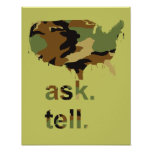 Ask. Tell. - Posters