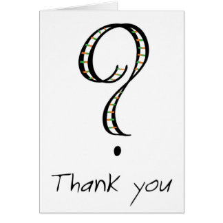 ASK thank you cards
