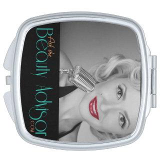 Ask The Beauty Advisor compact Vanity Mirror