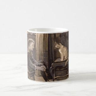 Ask the Cat 1888 Coffee Mug