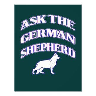 Ask the German shepherd Flyers