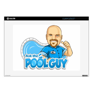 """Ask the Pool Guy 15"""" Laptop Skins"""