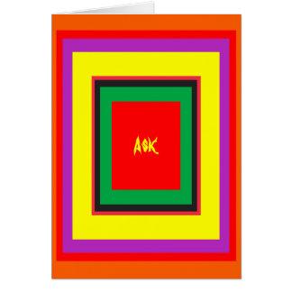Ask - ! UCreate Ask jGibney Zazzle Greeting Card