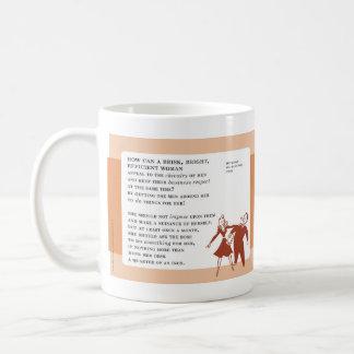 Ask Your Boss for Help Vintage Bad Advice Coffee Mug