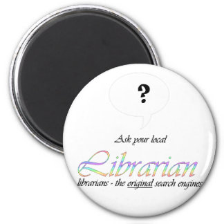 Ask your local librarian fridge magnets