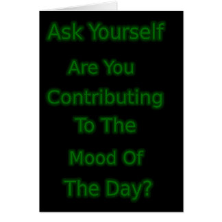 Ask Yourself Card