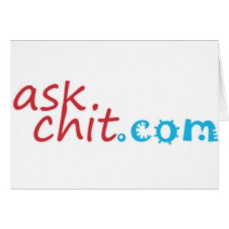 Askchit.com Merchandise Card