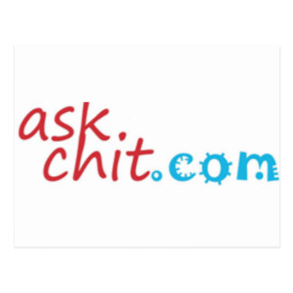 Askchit.com Merchandise Postcard