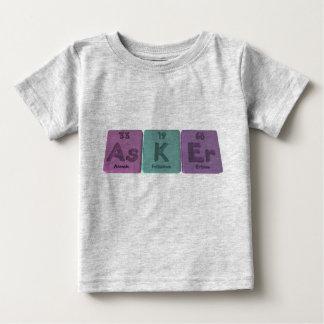 Asker-As-K-Er-Arsenic-Potassium-Erbium Baby T-Shirt