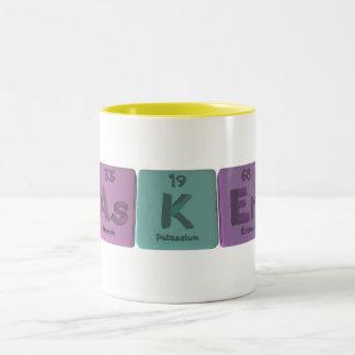 Asker-As-K-Er-Arsenic-Potassium-Erbium Two-Tone Coffee Mug