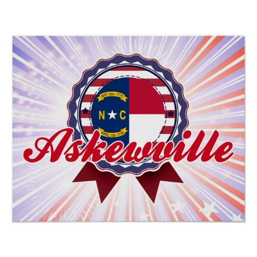 Askewville, NC pride. Great gift for anyone from Askewville, North Carolinaaskewville town